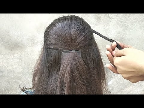 Awesome Puff Hairstyle for girls || hairstyle for party || Beautiful & Easy puff hairstyle thumbnail