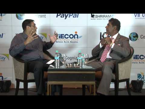 Tiecon Chennai 2013 - Mr.Vijay Amritraj Interview - YouTube