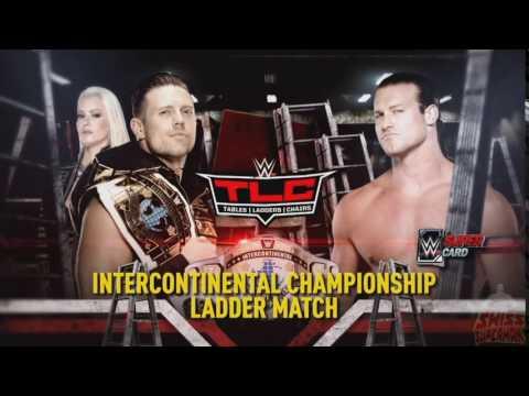 TLC 2016 - The Miz vs. Dolph Ziggler -  Match Card + Carmella vs. Nikki Bella  Match Card