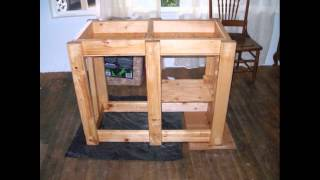 Laura Builds A 40 Gallon Fish Tank Aquarium Stand Diy