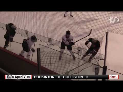 b9cf37d6498 Boy s Varsity Hockey - Holliston vs. Hopkinton - YouTube
