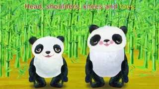 Head Shoulders Knees and Toes - Children Songs