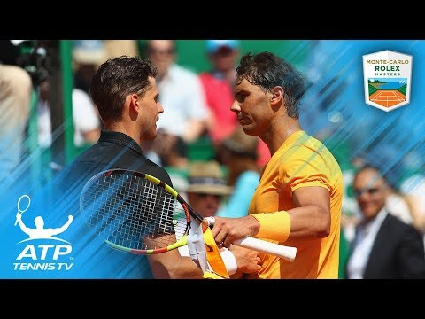 Nadal Scorches Thiem, Zverev Wins Birthday Epic | Monte-Carlo 2018 Quarter-Final Highlights