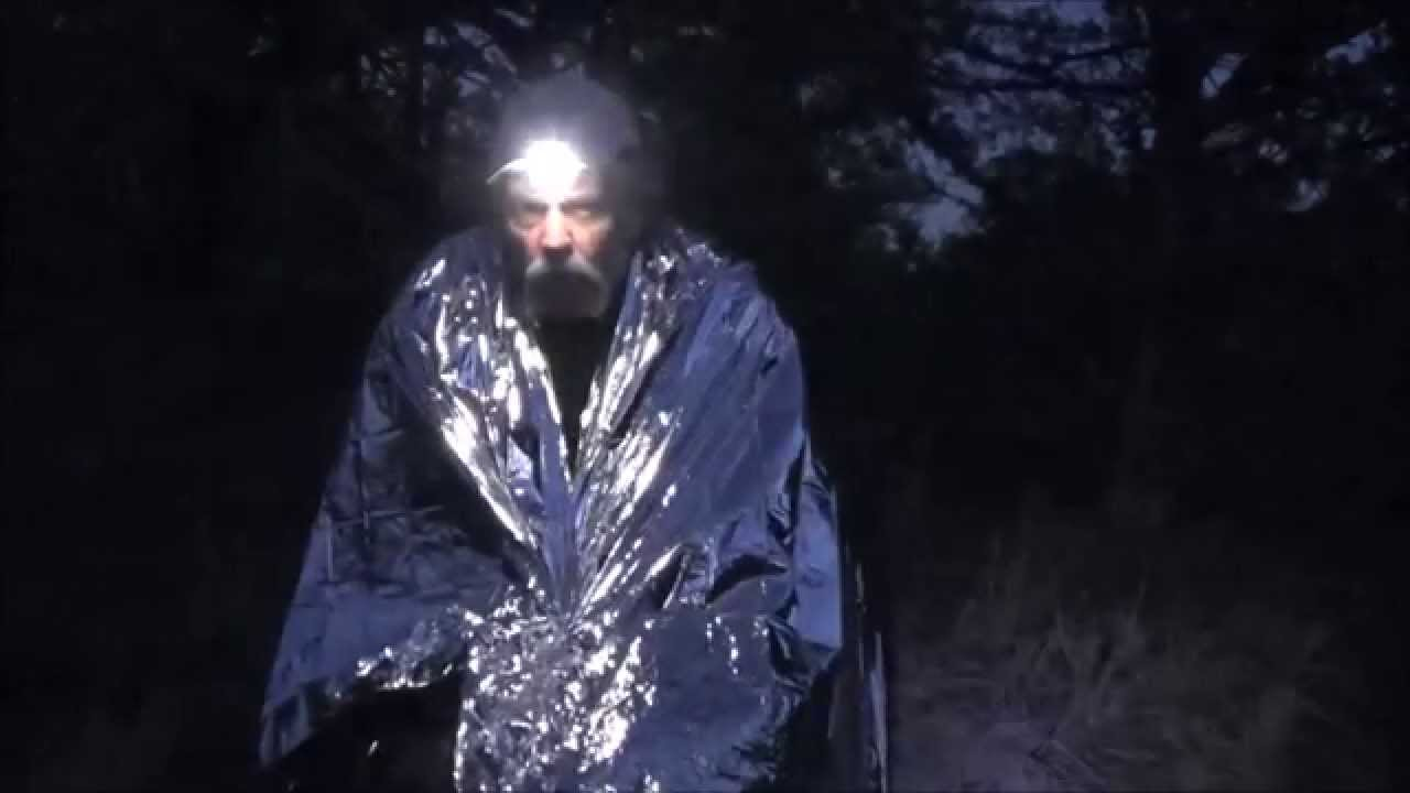 749a118e1c How Well Does A Mylar Rescue Blanket Really Work  - YouTube