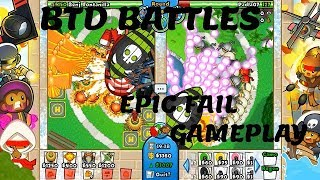 Crazy Epic Fail Game-play -BLOONS TD BATTLES