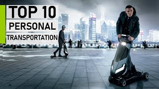Top 10 Insane Personal Transportation Vehicles in 2020