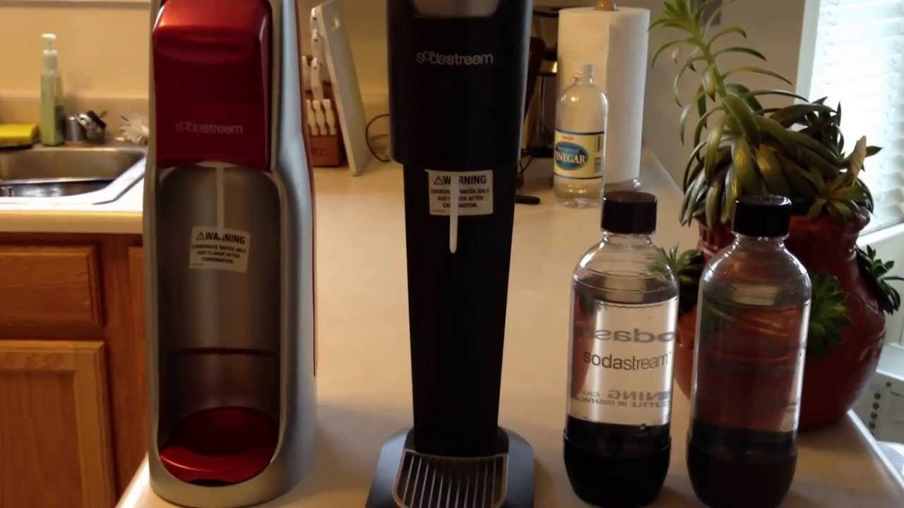 Sodastream Review Comparison Of The Jet Genesis Models Youtube