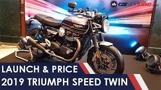 2019 Triumph Speed Twin Launched in India | NDTV carandbike