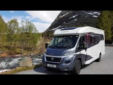 Norway tour by motorhome.