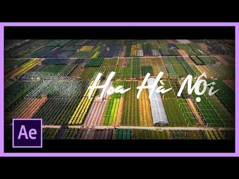 Hiệu ứng chữ tan biến với After Effects   Học After Effects cơ bản   Biên tập video