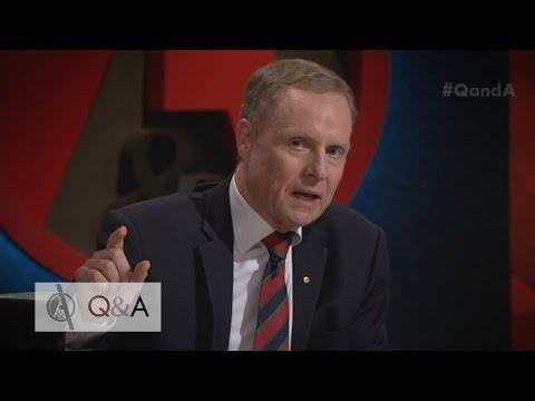 'That's bullshit': David Morrison hits out at domestic violence claim on Q&A
