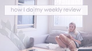 Sunday Life Admin Routine - How to do a Weekly Review