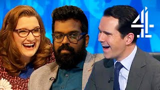 Romesh Ranganathan's FUNNIEST BITS on 8 Out of 10 Cats Does Countdown!
