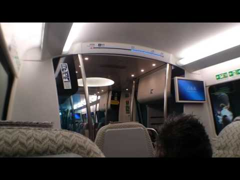 Airport Express MTR ride to Hong Kong International Airport