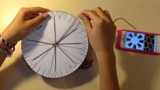 DIY:кумихимо/плетение фенечки  с помощью круга.