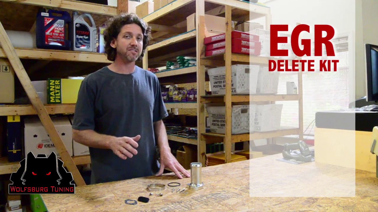 Volkswagen Egr Delete Kit All You Need To Know Youtube 1979 Vw Bus Behind Fuse Box