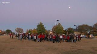 Vigil held for Keller High School student