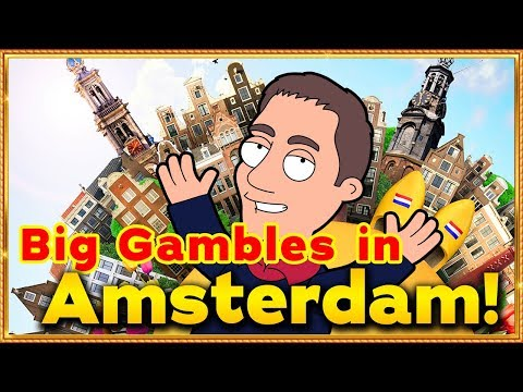 Big Gambles At The Holland Casino In Amsterdam ! Casino Nederland !!!