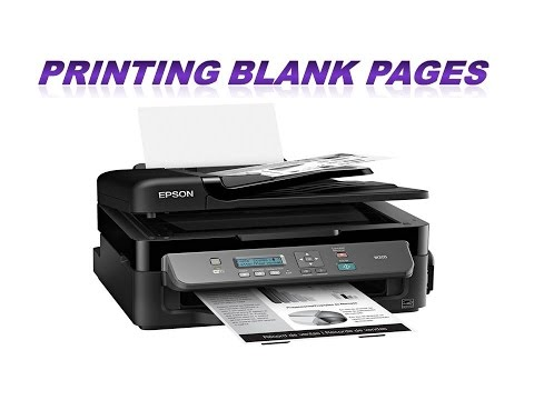 Epson M200 , Printer Printing Blank Pages,epson L210 Resetter