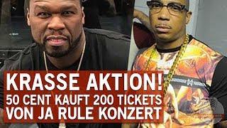 50 Cent kauft Tickets von Erzfeind auf, damit sein Konzert leer steht!