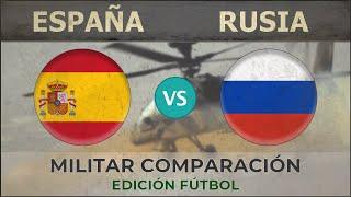 ESPAÑA vs RUSIA | Potencia Militar | 2018 (EDICIÓN FÚTBOL)