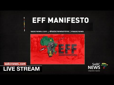 EFF MANIFESTO LAUNCH, PRETORIA: 02 February 2019