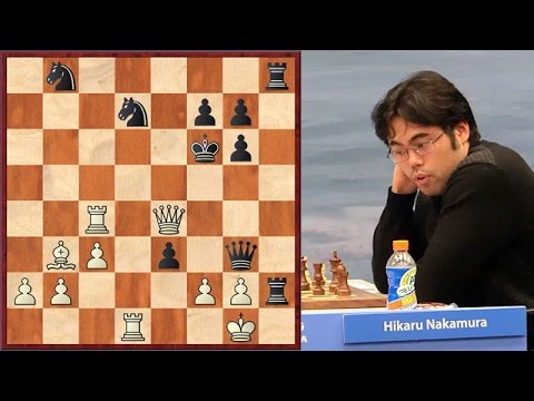 Nakamura's Most Beautiful And Shortest Game At US Championship 2017