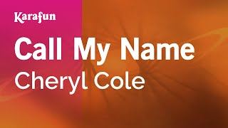 Karaoke Call My Name - Cheryl Cole *