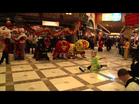 Lohan School of Shaolin Treasure Island Lion Dance