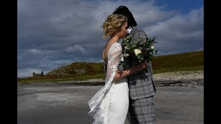 Teja and Lloyd's wonderfully romantic elopement to the west coast of Scotland