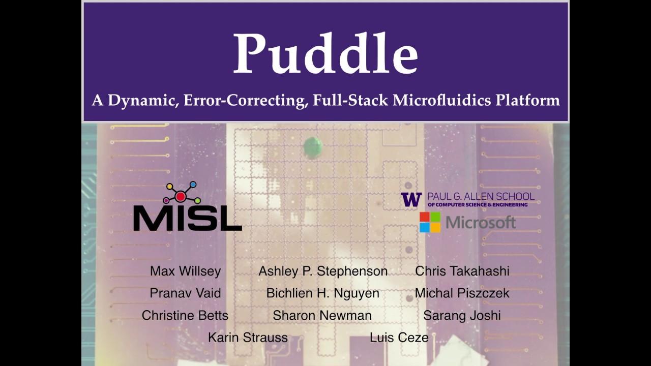 MISL: Microfluidic Automation