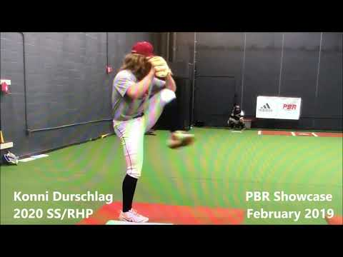 Konni Durschlag (2020 SS/RHP) **SHOWCASE VIDEO** Spring 2019
