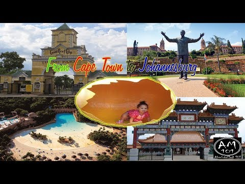 Cape Town to Johannesburg|Union Buildings|Gold Reef City|Sun City|Nan Hua Temple