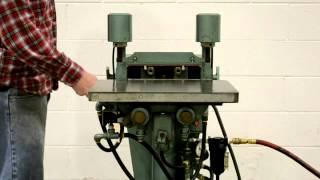 Newton Boring Machine, Model BA-100, Double Spindle