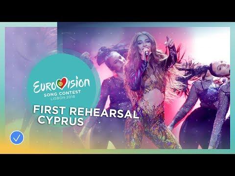 Eleni Foureira - Fuego - First Rehearsal - Cyprus - Eurovision 2018