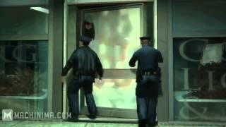 GTA 4   Приколы-трюки и аварии :3