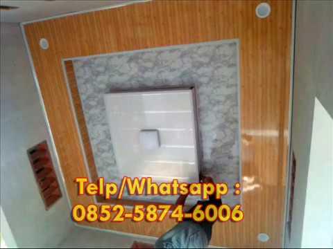 Borongan Murah Wa 0852 5874 6006 Motif Plafon Pvc Terbaru