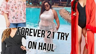 PLUS SIZE TRY ON HAUL; FOREVER 21+♡♡ |GABRIELLAGLAMOUR