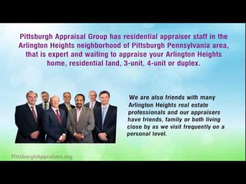 Arlington Heights Appraisers - 412.228.0508 - Appraisal Arlington Heights