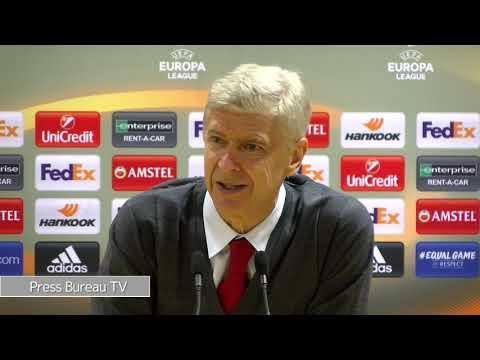 Arsene Wenger reaction to Belgrade & full preview Man City