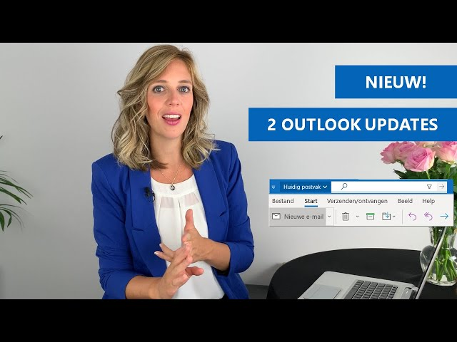 2 Nieuwtjes in Outlook | Update nieuwe zoekfunctie en nieuwe werkbalk