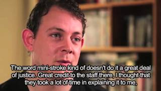 Mark's mini-stroke story (with subtitles) Thumbnail