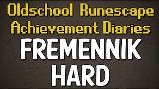 Fremennik Hard Achievement Diary Guide | Oldschool Runescape