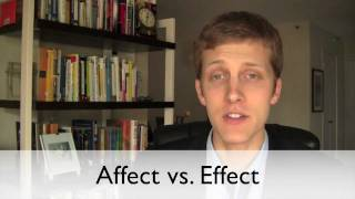 Repeat youtube video Affect vs. Effect