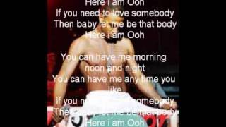 Here I am (remix) lyrics