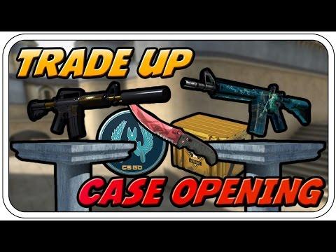 CASES, KNIFE & EIN KNIGHT / POSEIDON TRADE UP - CS:GO CASE OPENING - Deutsch German - Dhalucard