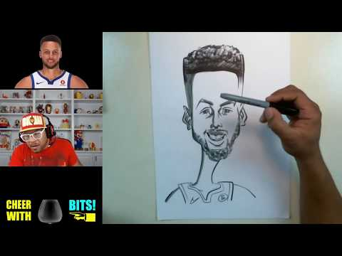 How To Draw Caricature Stephen Curry