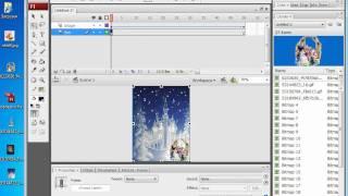 """Видеоурок по созданию Flash-открытки на тему """"Рождество"""""""