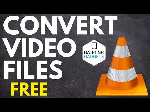 How to Convert Video Files using VLC Media Player - MP4, AVI, FLV, OGG, MOV, WMV, WEBM