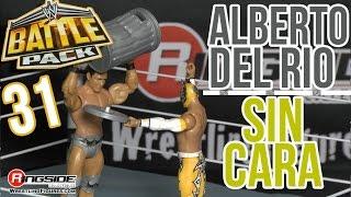 WWE FIGURE INSIDER: Sin Cara & Alberto Del Rio - WWE Battle Packs Series 31 Wrestling Figure